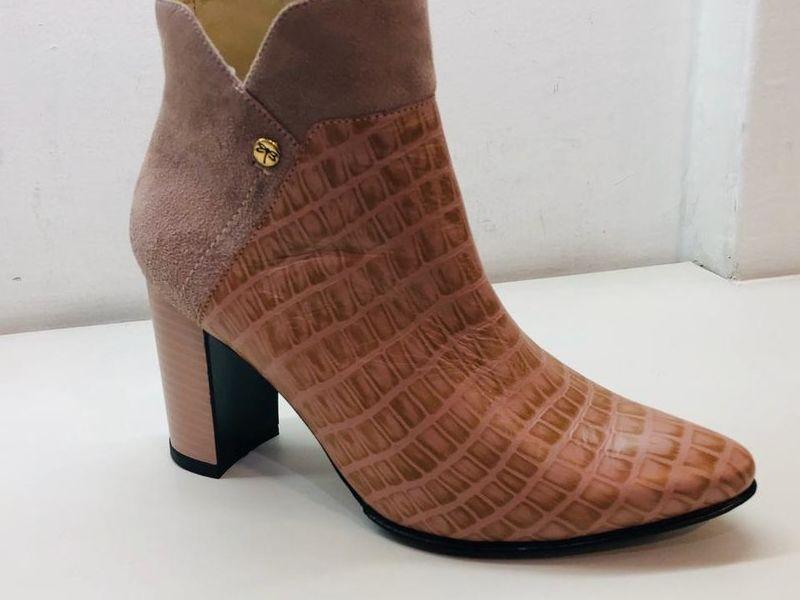 Zapatos de Tacón Piel Animal