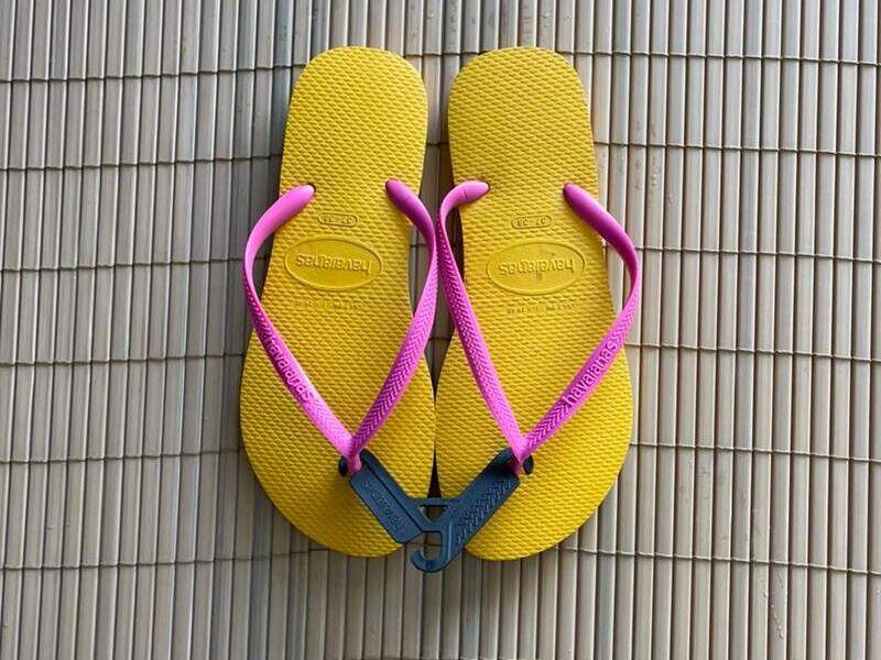 Havaianas Slim Amarillas