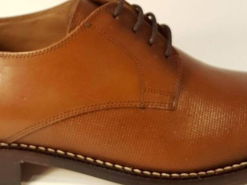 Zapatos Formales Ferratti Café Claro