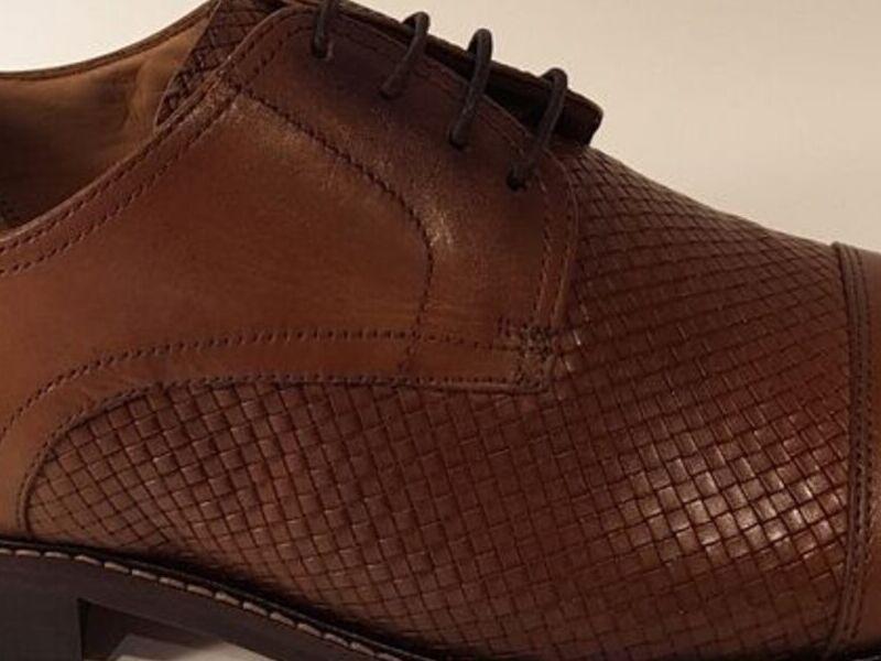 Zapatos Formales Ferratti Cuero Café