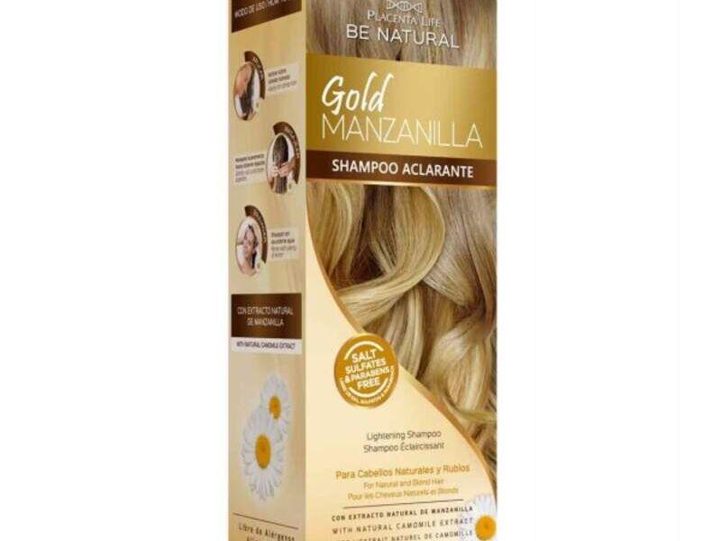Shampoo Gold Manzanilla Euphoria