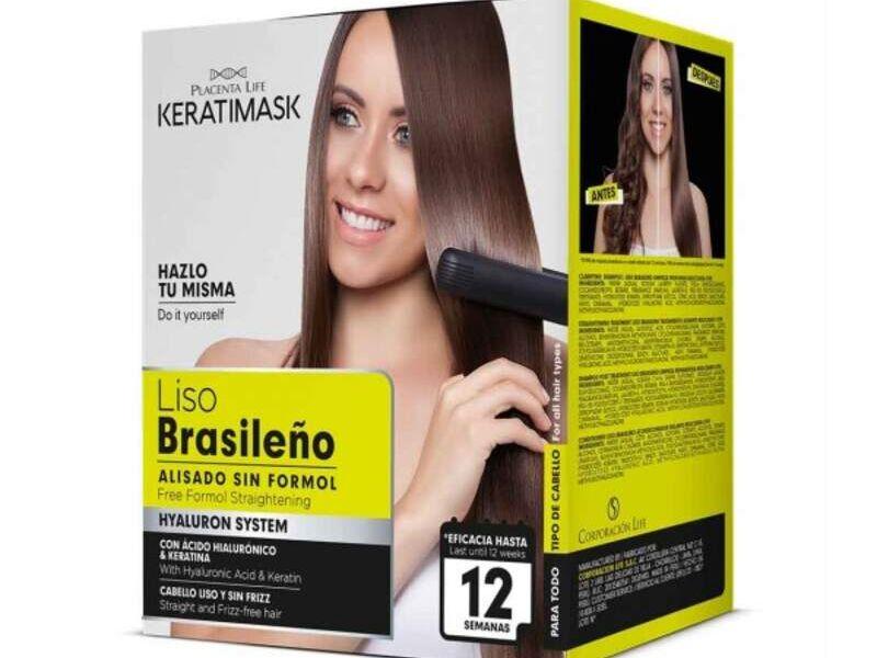 Kit Alisado Keratimask Be Natural