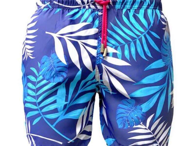 Shorts Blue Palms - Enemy Clothing