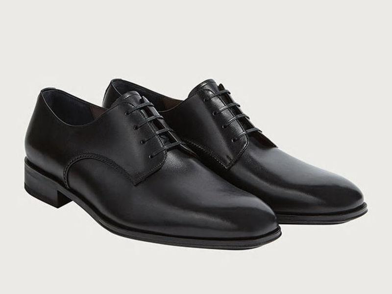 Zapatos Derby Daniel - Negro