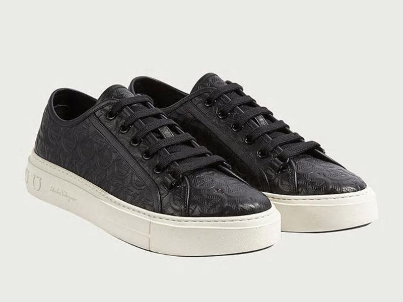 Sneakers Gancini - Negro