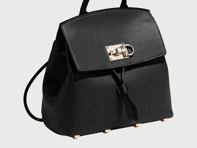 Ferragamo Studio Backpack - Negro