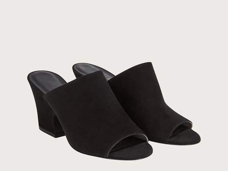 Zapatos mule - Negro