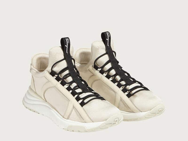 Sneakers Gancini Hueso