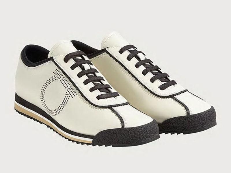 Sneakers Gancini- Blanco intenso/Negroo