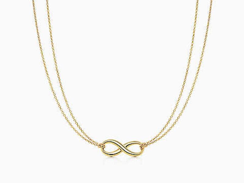 Collar Tiffany Infinity oro 18k-16