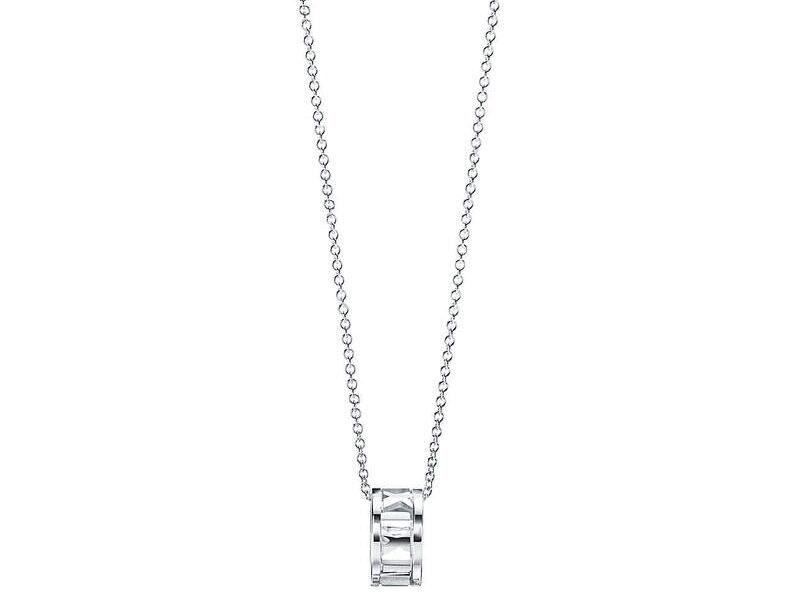 Collar Atlas plata esterlina 16