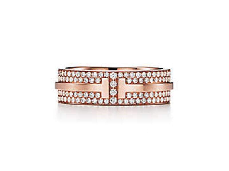 Anillo Tiffany T DiPave Oro rosa 18k #6 - Tiffany&Co. | SARTORIAL