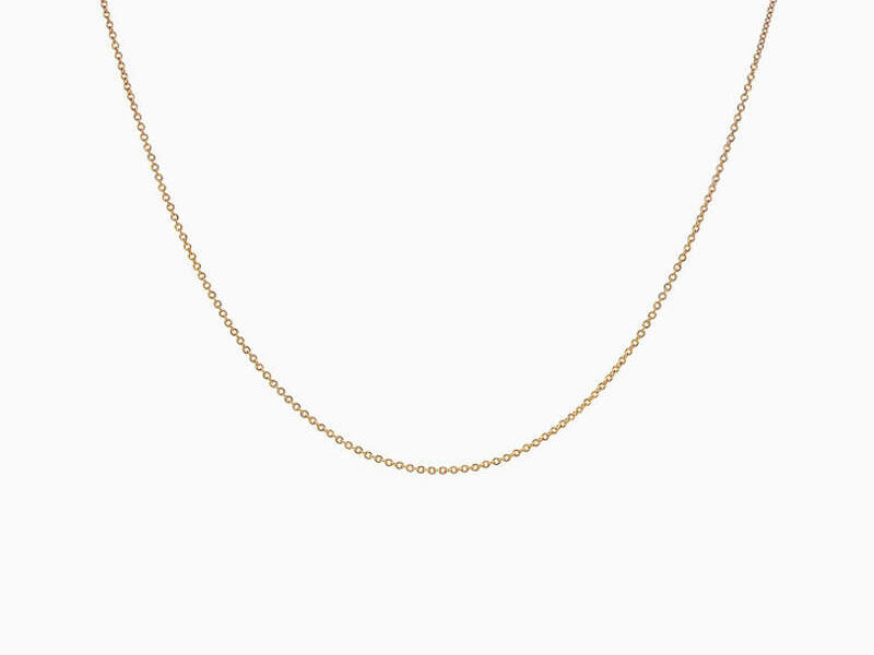 Cadena Tiffany Oro 18k 18