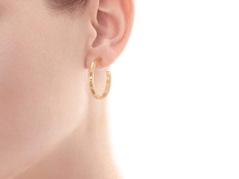 Aretes Tiffany 1837 Oro 18k