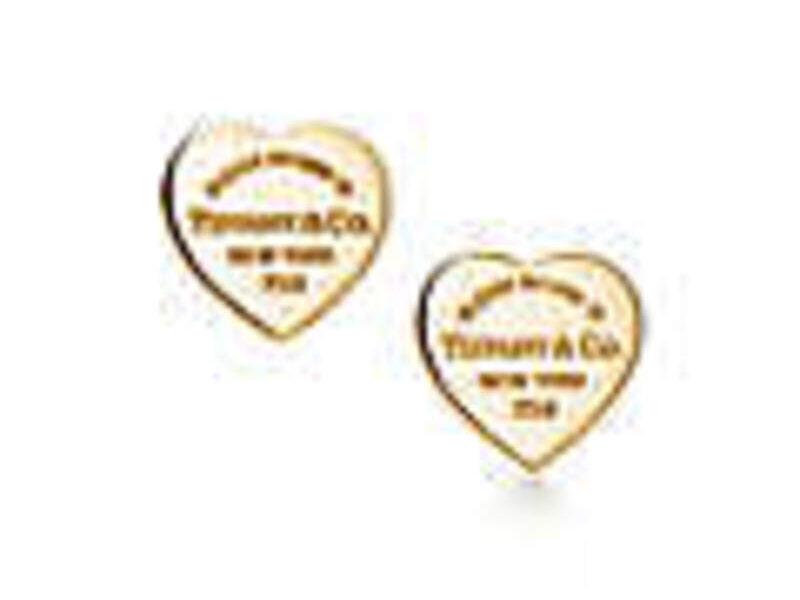 Aretes Return to Tiffany® Oro 18k Heart