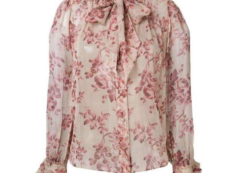 Blusa Rosa de Diseño Exclusivo