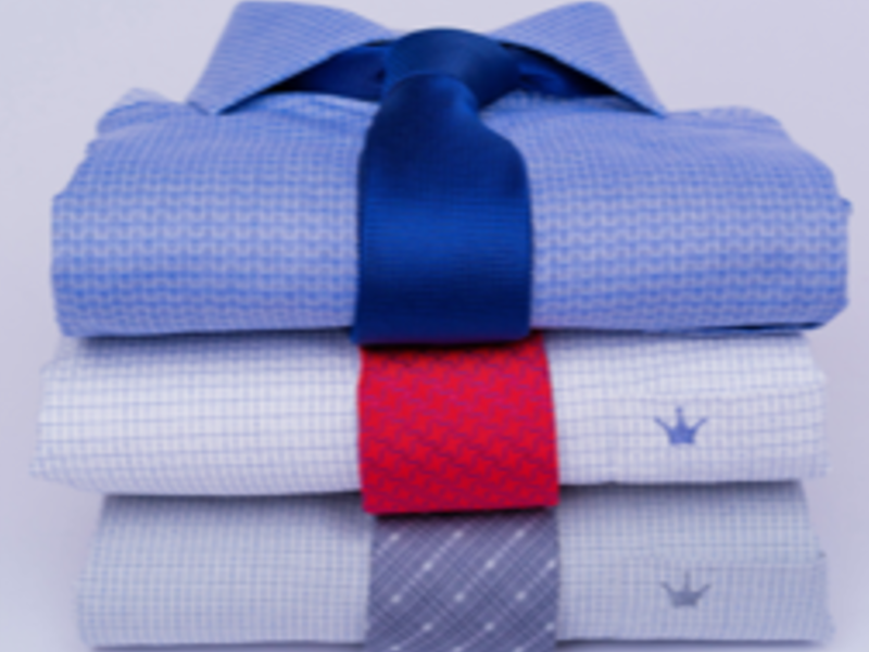Camisa de Corbata Slim