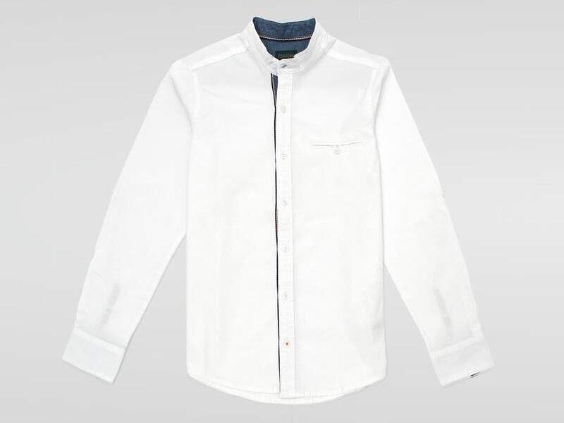 Camisa Casual en Blanco