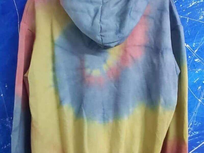 Hoodie decolorado