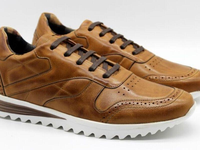 Sneakers 02 Natura Naranja