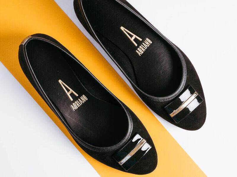 Zapatillas Diseño Exclusivo Negras