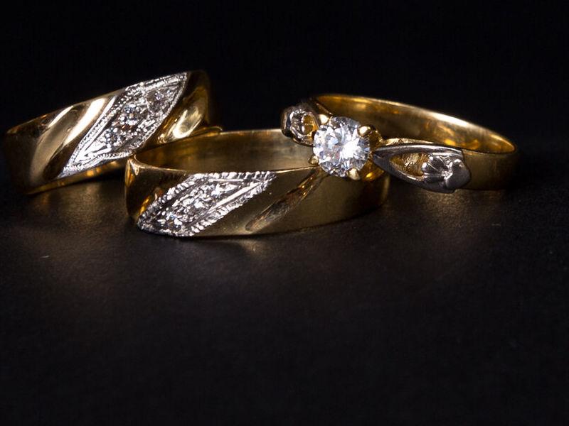 Anillo de Compromiso en oro