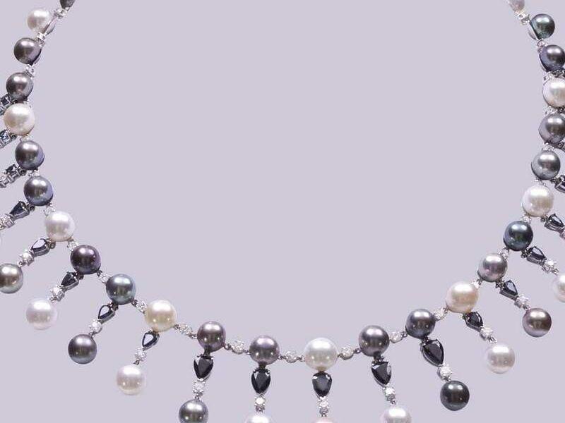 Collar de perlas diseño exclusivo