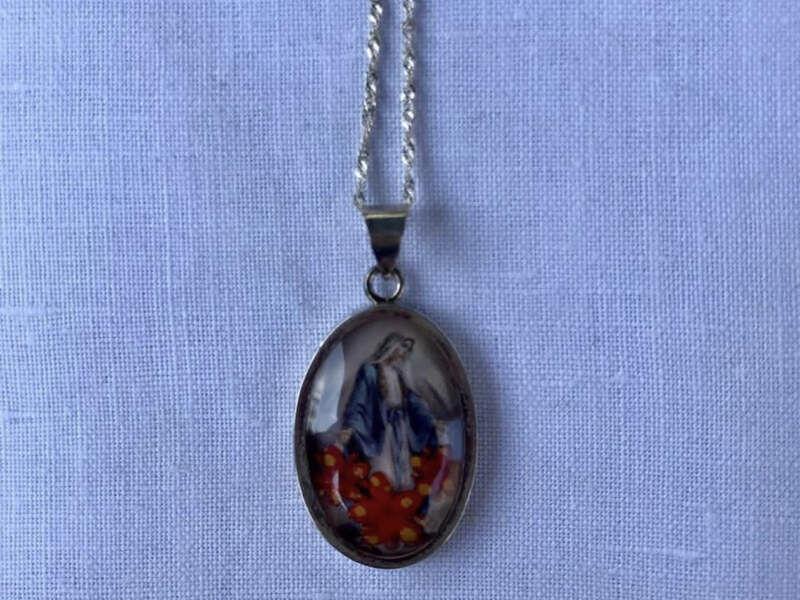 Medalla de plata Virgen de los Rayos