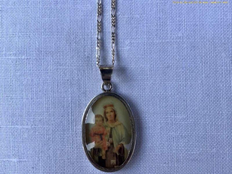 Medalla de plata Virgen del Carmen