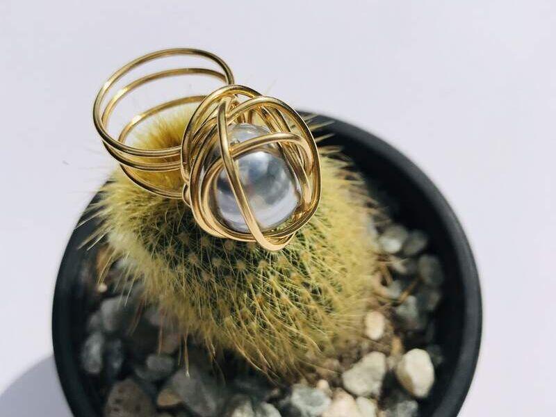 Aretes de perla Majórica